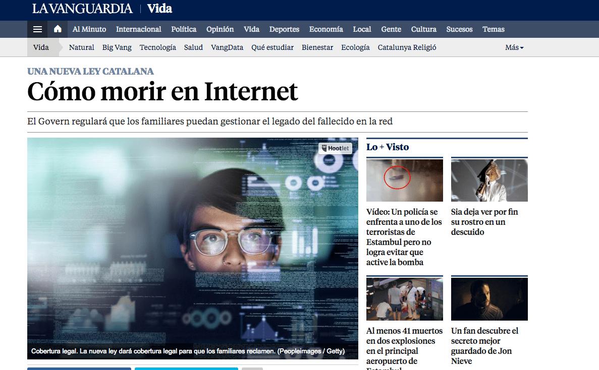 Nace el heredero digital la nueva figura para regular la muerte digital