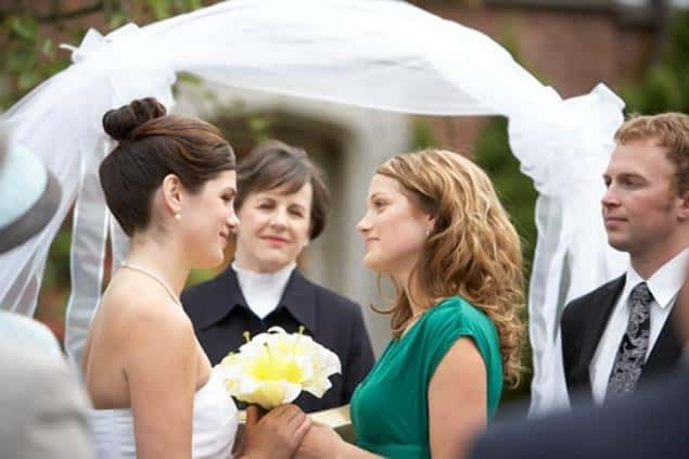pareja mujeres casadas