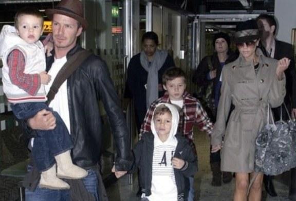 Los Beckham dejan sin herencia a sus hijos