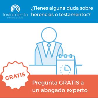 consultas gratuitas sobre herencias y testamentos