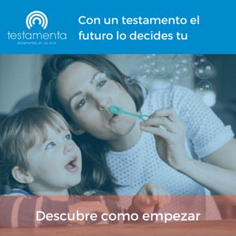 hacer el testamento online madres