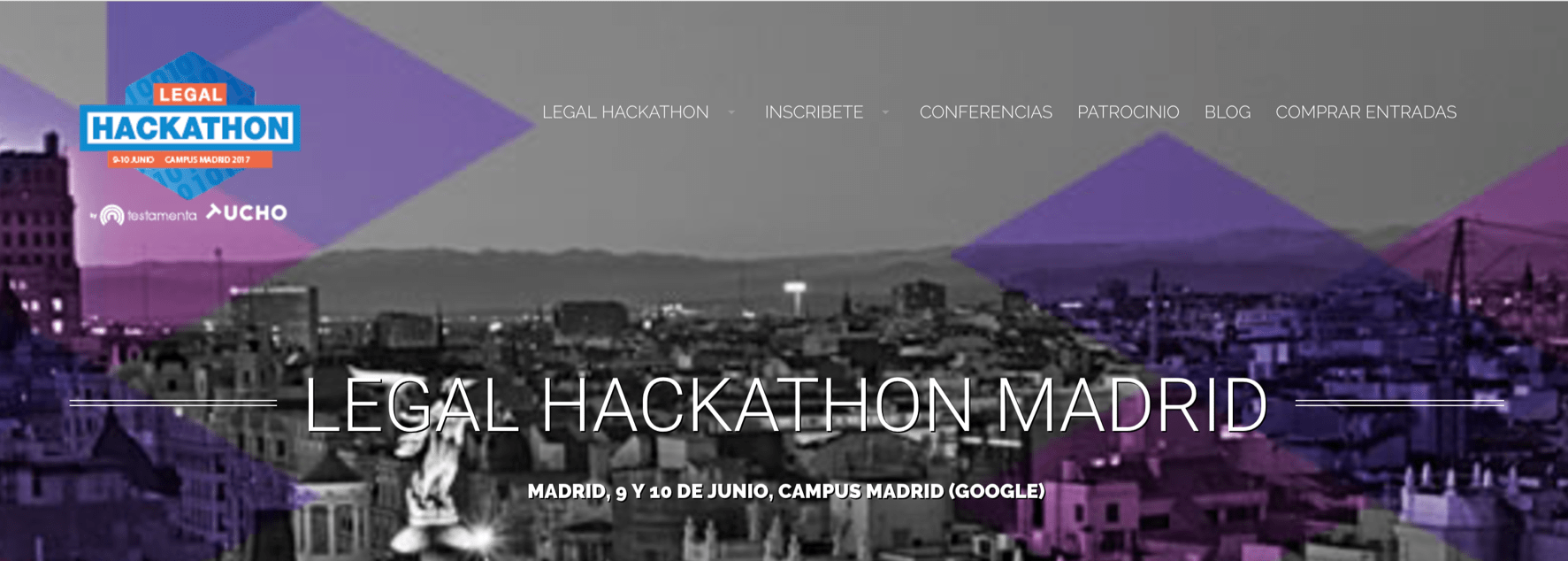 Legal Hackathon 2017 - Google Campus Madrid by Tucho en colaboración con Testamenta