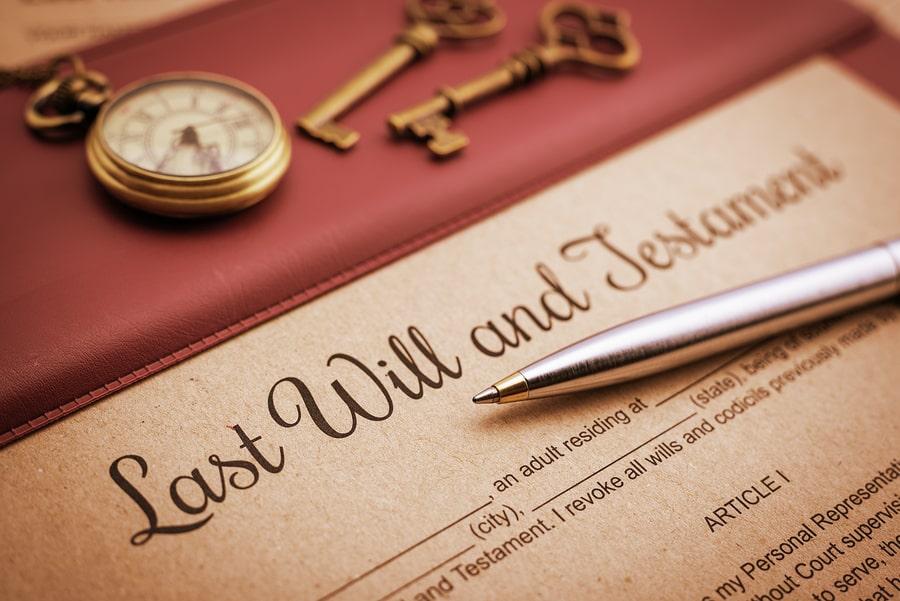 los ricos piensan sobre hacer testamento