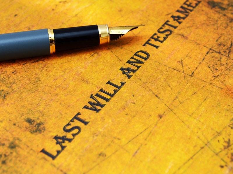El testamento en caso de bienes gananciales
