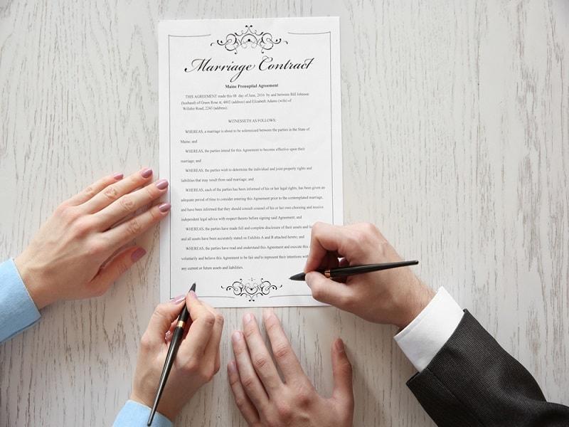 Las capitulaciones matrimoniales y el derecho de herencia