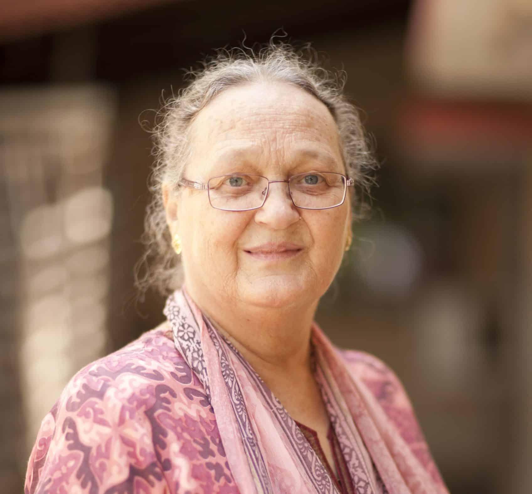Anna Ferrer, Presidenta y Cofundadora de la Fundación Vicente Ferrer